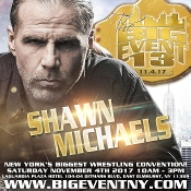 BIG EVENT13 SHAWN MICHAELS AUTOGRAPH
